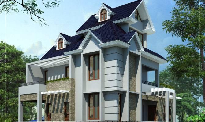 Unique Home Design Kerala
