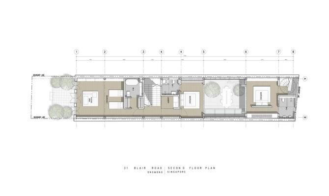 Unique Home Parading Inverted Floor Plan Informal Socialization