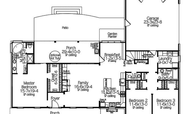 Unique House Plans More Country Ranch Floor