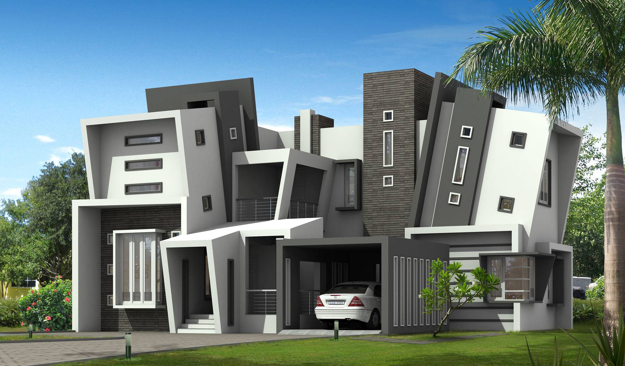 Unique Kerala Style Home Design House Plans Attached