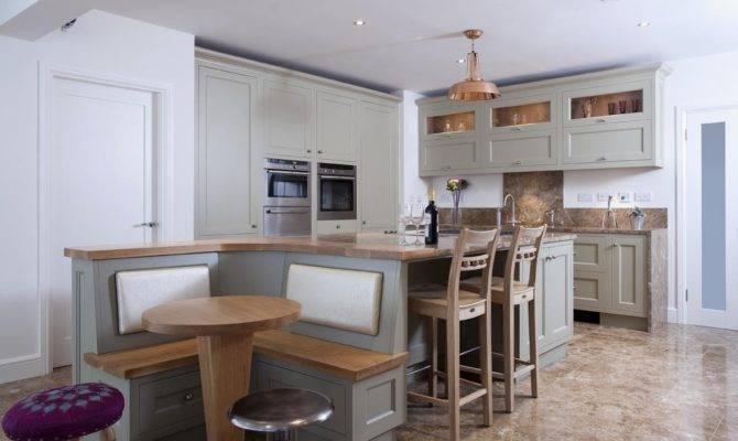 Unique Level Kitchen Island Design