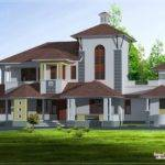 Unique Luxury Villa Feet Home Kerala Plans