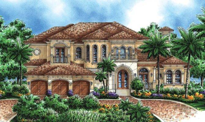 Unique Mediterranean House Plans Home Design Style