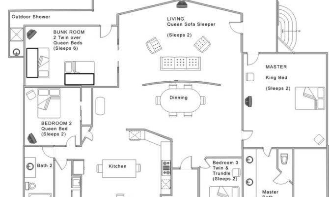Unique Open Floor Plans Home