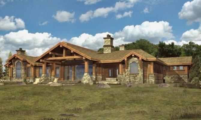 Unique Ranch Style House Plans Custom Log Modular Home