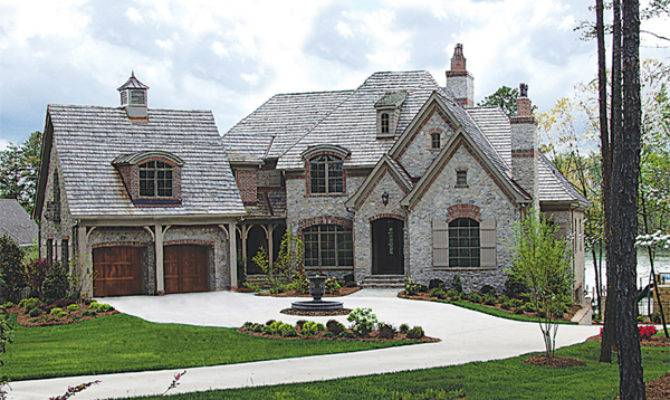 Unique Stone Home Plans French Country Brick