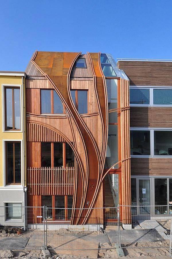 Unique Urban House Facade Design Architects