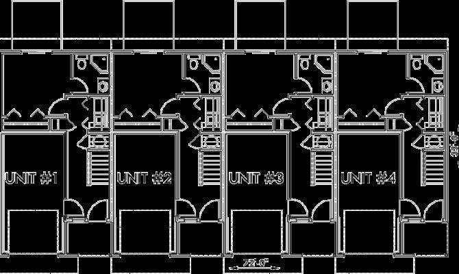 Unit Multi House Plans Home Deco