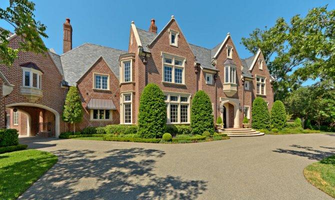 United States Homes Million English Tudor Mansion Dallas