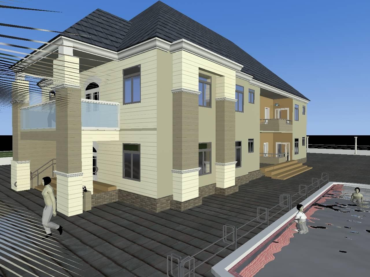 Units Bedroom Flat Two Flats Ude Building Consult