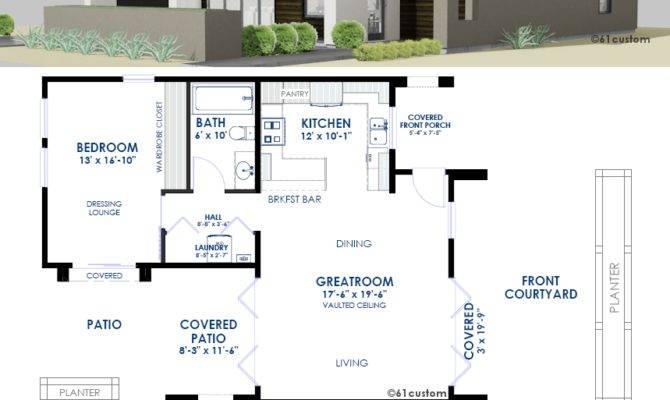 Universal Casita House Plan Custom Contemporary