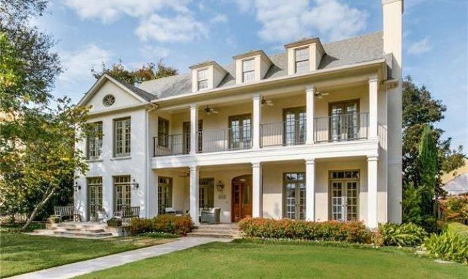 University Park Southern Plantation Style Home Scarlett