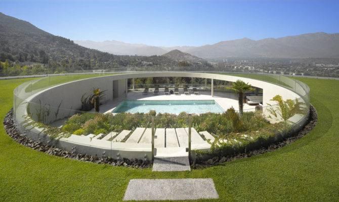 Unusual Residence Design Overlooking Massive
