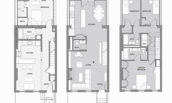 Urban House Plans Narrow Lots Floor Infill Berlinkaffee
