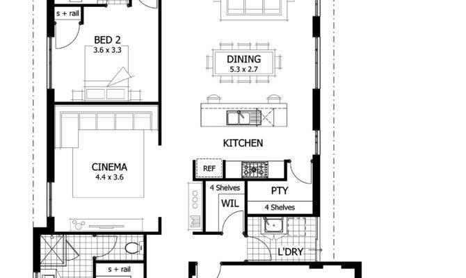 Urban House Plans Narrow Lots Infill Home Small Lot