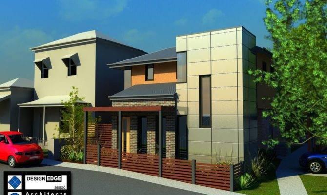 Urban Infill Raye Street House Ryan Rhodes Designs Home