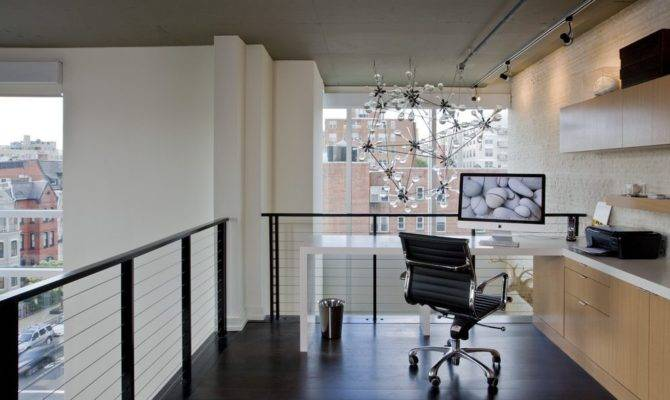 Urban Loft Style Home Office Industrial Contemporary