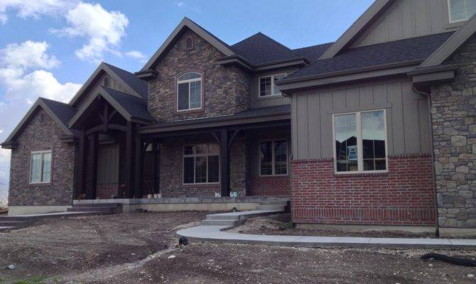 Using Brick Stone Your Home Exterior Red House Plans
