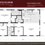 Vacation Home Floor Plans Modular Deco