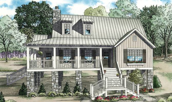 Vacation House Plan Front Home Plans More
