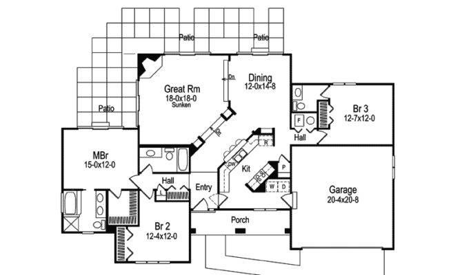Valencia Florida Style Home Plan House Plans More