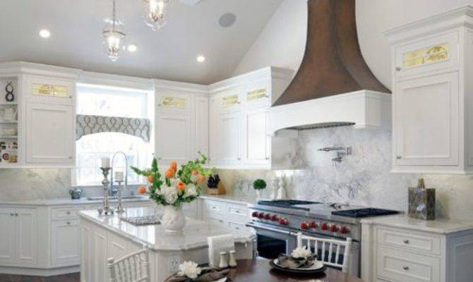 Vaulted Ceiling Kitchen Houzz