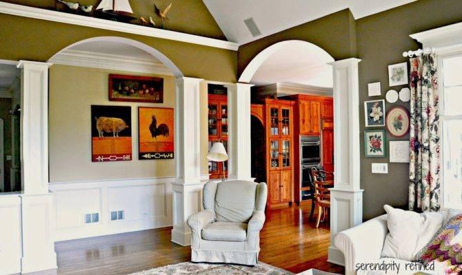 Vaulted Ceiling Open Floor Plan Second Sun