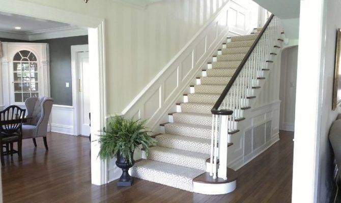 Verona Center Hall Colonial Traditional Staircase