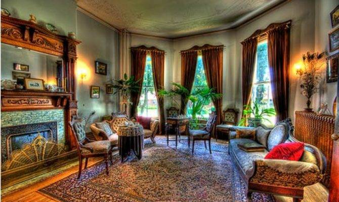 Very Beautiful Interior Design Victorian Home Living Room