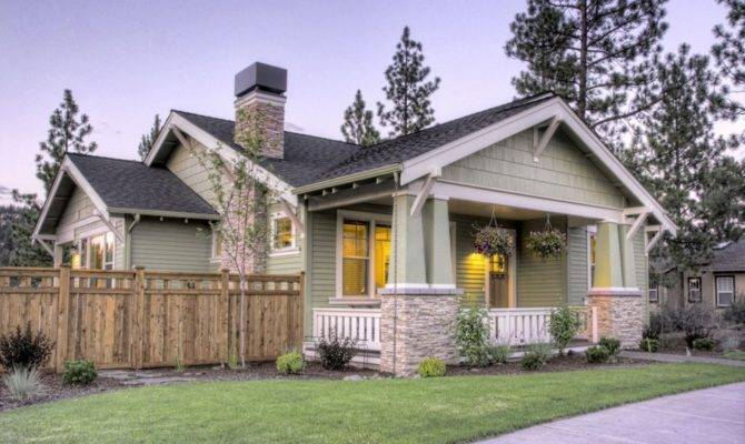 Very Cozy Craftsman Style House Plans One Story