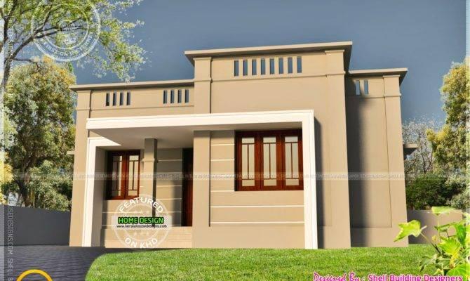 Very Small House Exterior Kerala Home Design Floor Plans