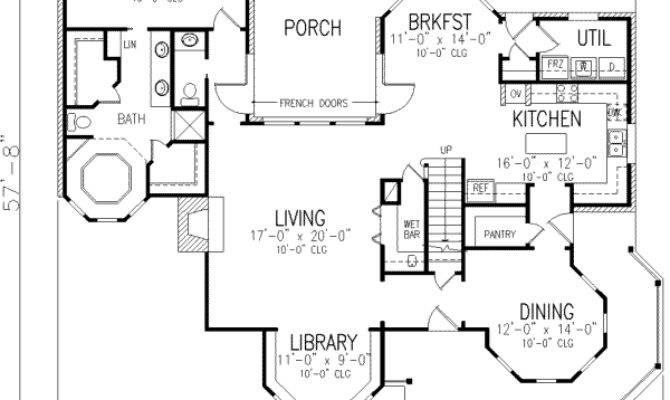 Victorian Dream Home Plan Architectural