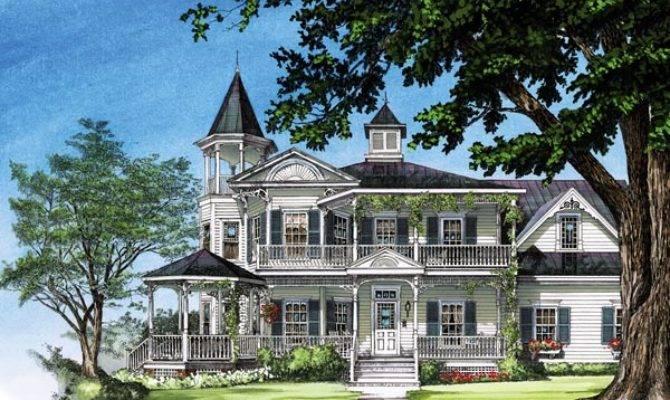 Victorian Dream House Plan Home Plans Blog