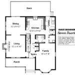 Victorian House Plan Astoria Floor