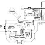Victorian House Plan Floor