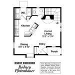 Victorian House Plan Isabelle Floor