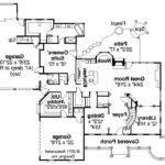 Victorian House Plan Randell First Floor