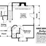 Victorian House Plan Topeka Floor