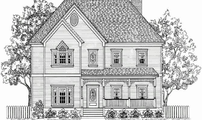 Victorian House Plans Story Elegant Plan