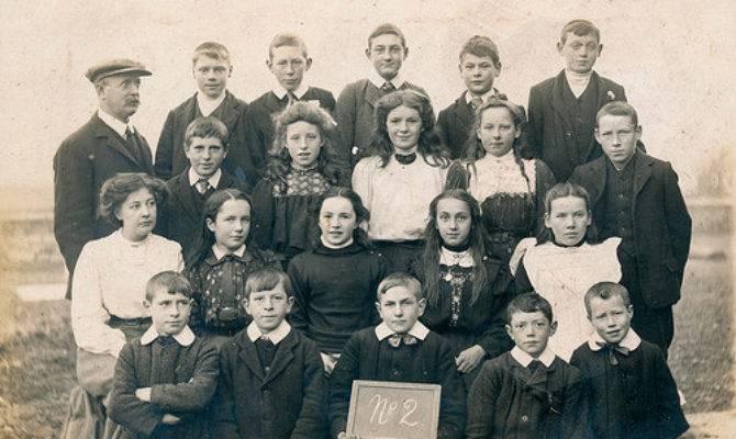 Victorian School Class Flickr Sharing