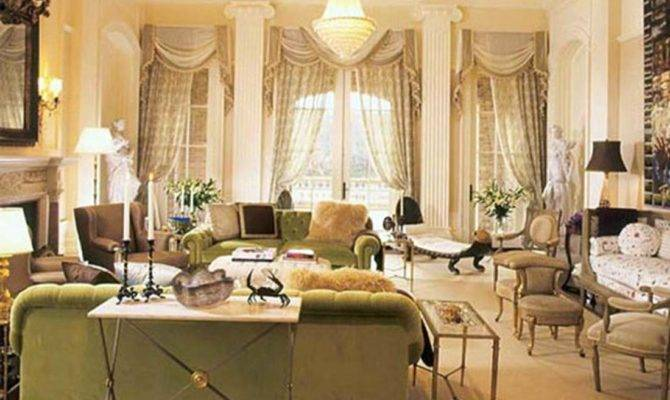 Victorian Style Living Room