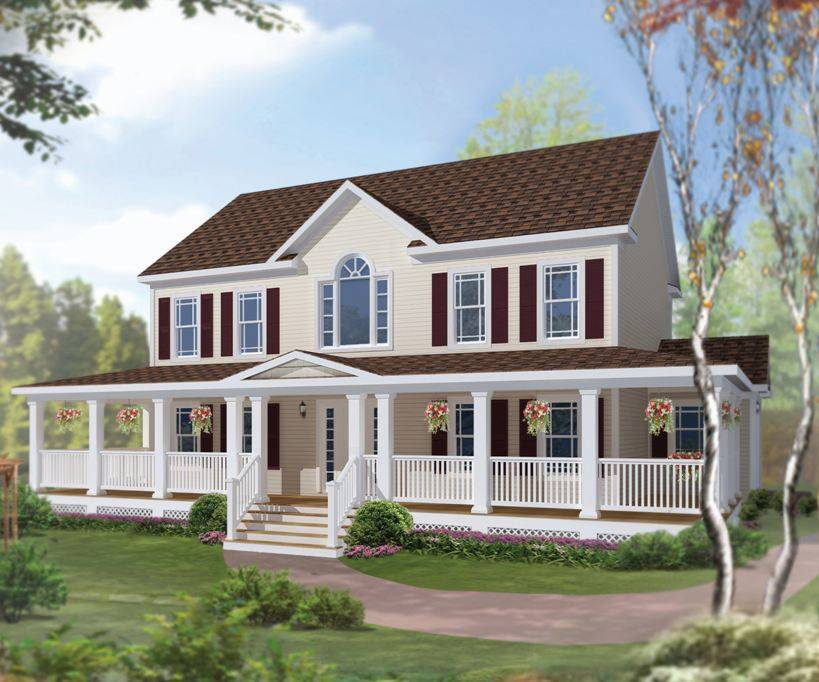 Victorian Style Modular Homes Floor Plans