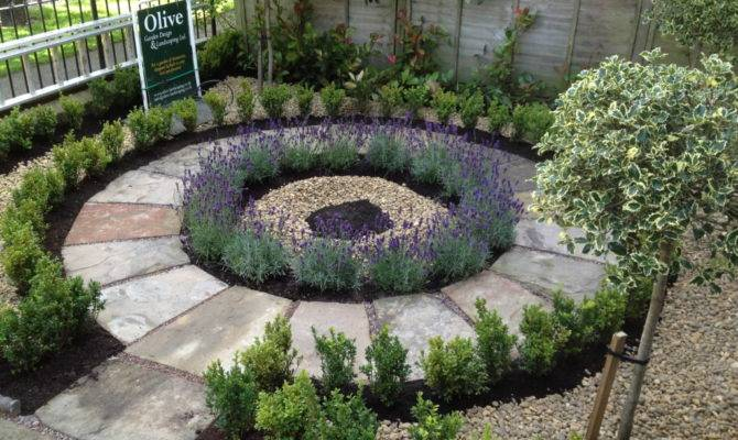 Victorian Town House Garden Olive Design Landscaping