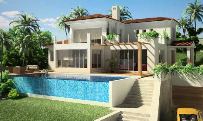Villa Design Galleryhip Hippest Galleries House Plans
