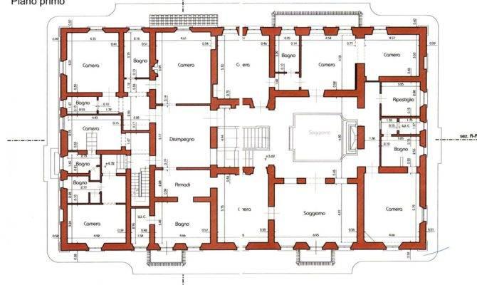 Villa Floor Plans Also Tuscan Plan House