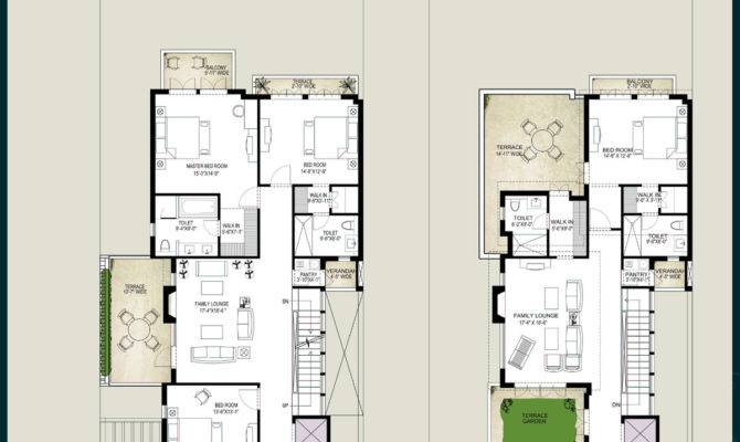 Villa House Plans Floor Homes