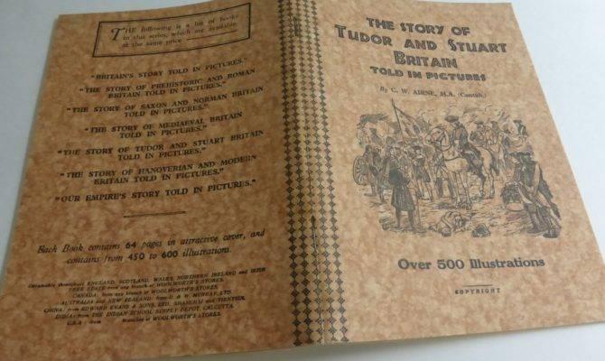 Vintage Book Story Tudor Stuart Britain Told