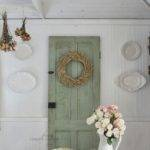 Vintage Charm White Capris French Country Cottage