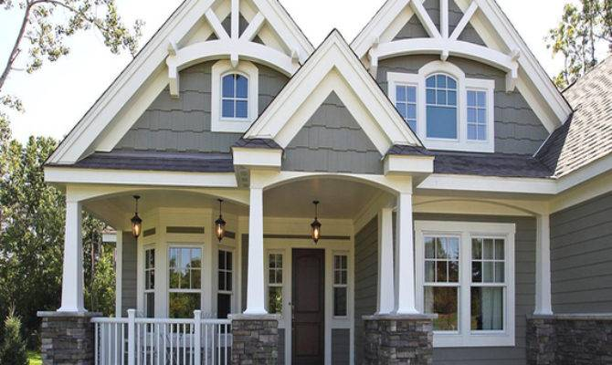 Vintage Craftsman Style Home Plans