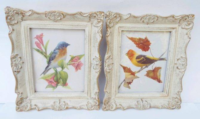 Vintage French Country Bird Prints Beautifulpassions